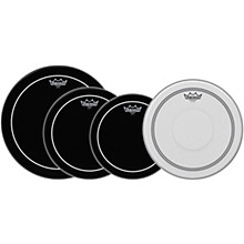 Remo Ebony Pinstripe Drumheads ProPack Level 1