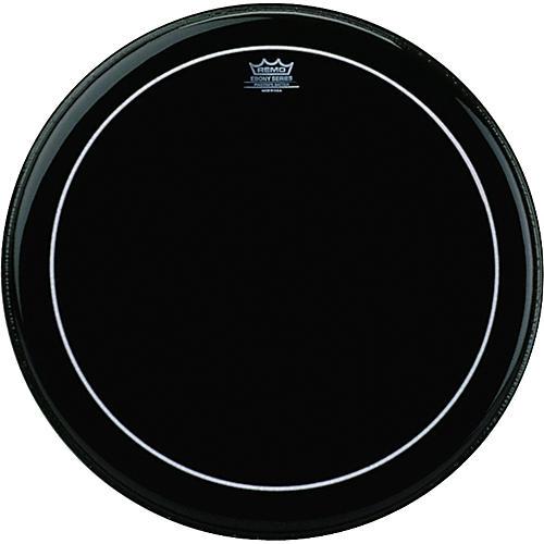Remo Ebony Series Pinstripe Bass Drumhead-thumbnail