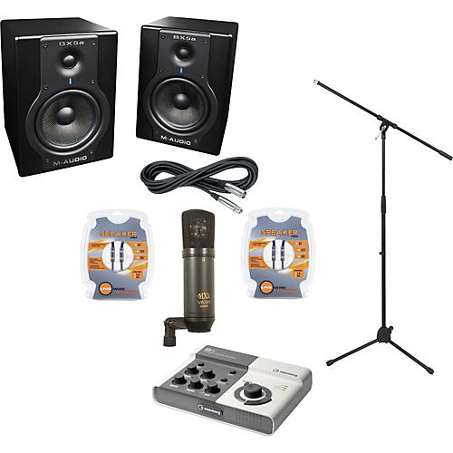 M-Audio Echo AudioFire 4 and M-Audio BX5a Recording Package