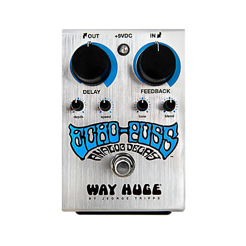 Way Huge Electronics Echo Puss Standard Delay Guitar Effects Pedal-thumbnail
