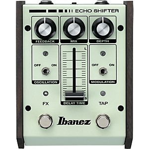 Ibanez Echo Shifter Analog Delay with Modulation Guitar Effects Pedal by Ibanez