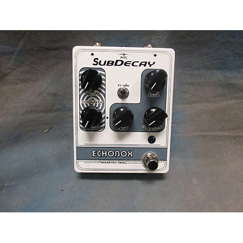 Subdecay Echobox Effect Pedal