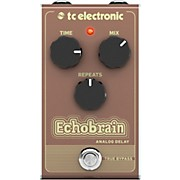TC Electronic Echobrain Analog Delay Effect Pedal