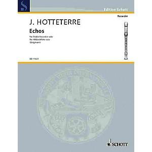Schott Echoes Alto Recorder Schott Series
