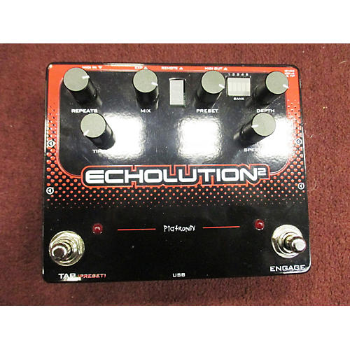 Pigtronix Echolution 2 Analog Delay Effect Pedal