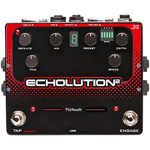 Pigtronix Echolution 2 Guitar Effects Pedal-thumbnail