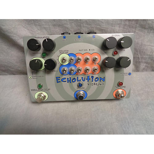 Pigtronix Echolution Phi Multi-Tap Effect Pedal