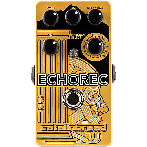 Catalinbread Echorec Multi-Tap Echo Guitar Effects Pedal-thumbnail