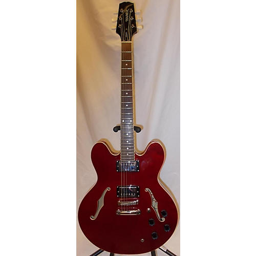 used hamer echotone hollow body electric guitar cherry guitar center. Black Bedroom Furniture Sets. Home Design Ideas