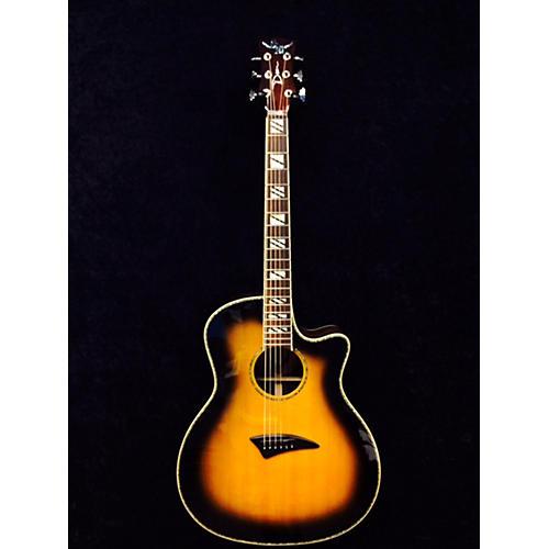 Dean Ecsw Sunburst Acoustic Electric Guitar-thumbnail
