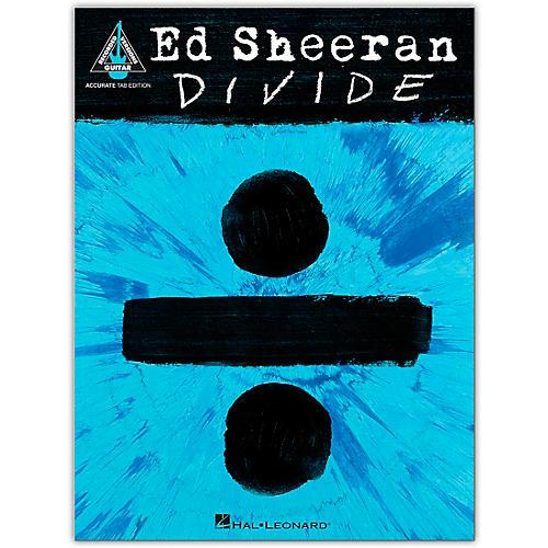 Hal Leonard Ed Sheeran - Divide (Accurate Tab Edition) Guitar Recorded Version Series Softcover by Ed Sheeran
