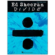 Hal Leonard Ed Sheeran - Divide Piano/Vocal/Guitar Artist Songbook Series Softcover Performed by Ed Sheeran