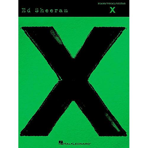 Hal Leonard Ed Sheeran - X Piano/Vocal/Guitar-thumbnail