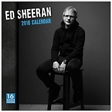 Browntrout Publishing Ed Sheeran 2018 Wall Calendar