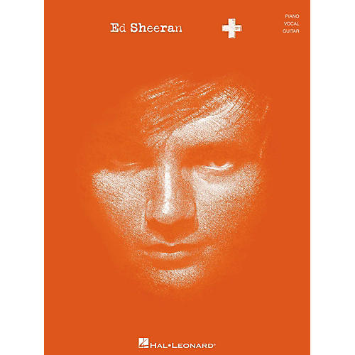 Hal Leonard Ed Sheeran + (Plus) for Piano/Vocal/Guitar (P/V/G)-thumbnail
