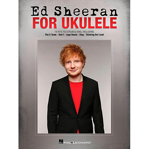 Hal Leonard Ed Sheeran for Ukulele-thumbnail