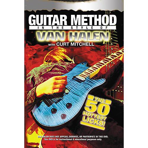 MVP Eddie Van Halen 50 Hottest Licks Guitar (DVD)