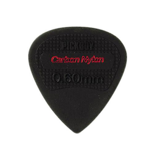 Pick Boy Edge, Sharp Tip, Carbon/Nylon Guitar Picks (10-pack) .60 mm