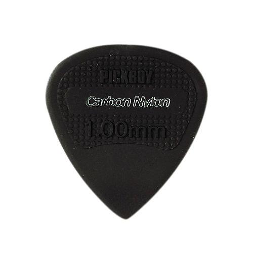 Pick Boy Edge, Sharp Tip, Carbon/Nylon Guitar Picks (10-pack) 1.0 mm
