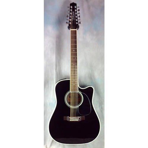 Takamine Ef381sc 12 String Acoustic Electric Guitar