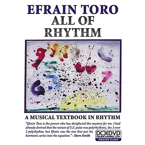 Alfred Efrain Toro - All of Rhythm DVD