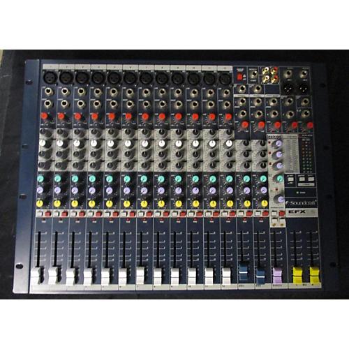 Soundcraft Efx12 Line Mixer