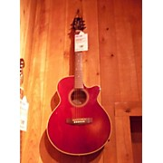 Takamine Eg260c-wr Acoustic Electric Guitar