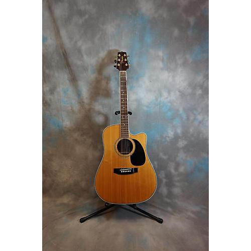 Takamine Eg334sc Natural Acoustic Electric Guitar