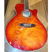Takamine Eg404c Acoustic Electric Guitar
