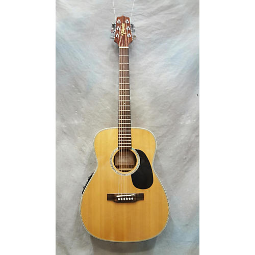 Takamine Eg501s Acoustic Electric Guitar Natural