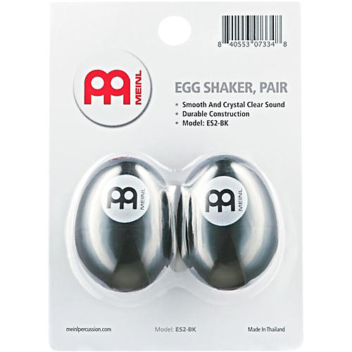 Nino Egg Shaker (Pair) Black