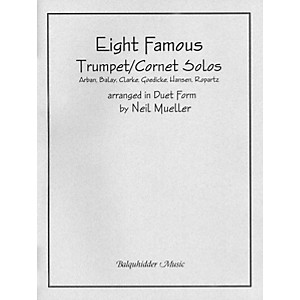 Carl Fischer Eight Famous Trumpet / Cornet Solos Arranged in Duet Form Book by Carl Fischer