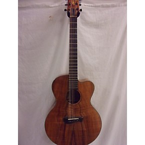 used tacoma ekk19c koa acoustic electric guitar natural guitar center. Black Bedroom Furniture Sets. Home Design Ideas