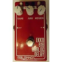 Malekko Heavy Industry Ekko 616 MKII Analog Delay Effect Pedal