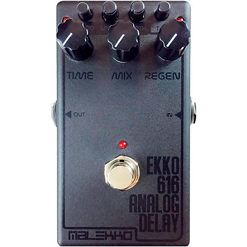 Malekko Heavy Industry Ekko 616 MKII Dark Analog Delay Guitar Effects Pedal-thumbnail
