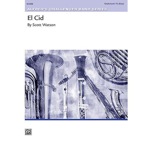 Alfred El Cid Concert Band Grade 1.5 Set-thumbnail