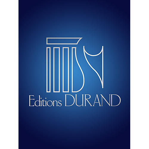 Editions Durand El Pano Moruno (from 7 Chansons Populaires) (Voice and Piano) Editions Durand Series by Manuel De Falla