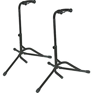 Musicians Gear Electric, Acoustic and Bass Guitar Stands 2 Pack