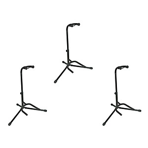 Musicians Gear Electric, Acoustic and Bass Guitar Stands 3 Pack