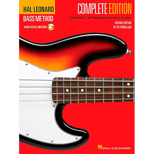 Hal Leonard Electric Bass Method - Second Edition (Book/CD)-thumbnail