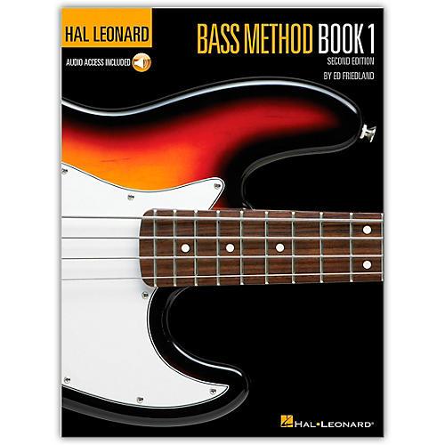 Hal Leonard Electric Bass Method Book I with CD