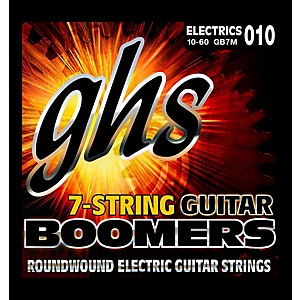 GHS Electric Boomers 7 String Set - Medium by GHS