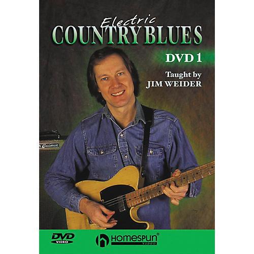 Homespun Electric Country Blues DVD 1