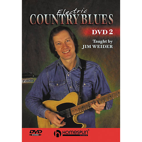 Homespun Electric Country Blues DVD 2