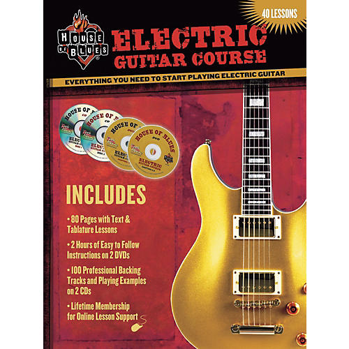 House of Blues Electric Guitar Course DVD