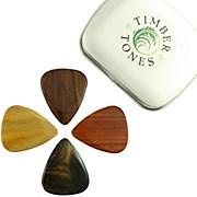 Timber Tones Electric Mixed Tin of 4 Guitar Picks