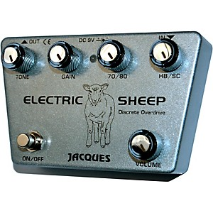 Jacques Electric Sheep Guitar Overdrive Pedal by Jacques