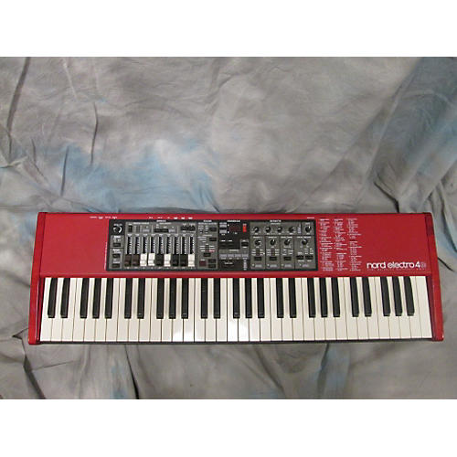 Nord Electro 4D SW61 Red Synthesizer