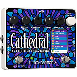 Electro-Harmonix Cathedral Stereo Reverb Guitar Effects Pedal (CATHEDRAL)