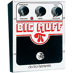 Electro-Harmonix Classics USA Big Muff PI Distortion / Sustainer Guitar Effects Pedal (CLSCBIGMUFFPI)